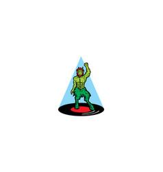 disco logo icon vector image