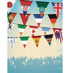 Flag Background vector image
