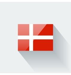Flag denmark vector