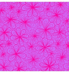 Floral bright pattern vector image