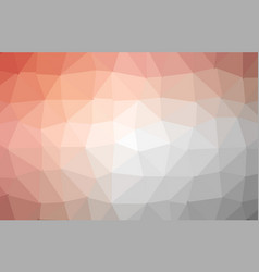modern abstract polygonal background red vector image