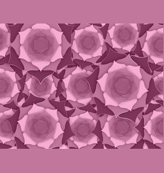 sacred lotus indian background old rose flowers vector image