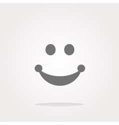 Smile Icon Smile Icon Object Smile Icon vector image