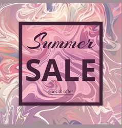 Summer sale pattern vector