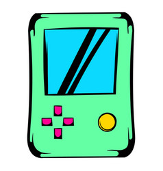 Tetris icon icon cartoon vector