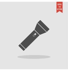 flashlight icon Flat vector image