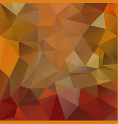 Abstract polygon square background red orange vector