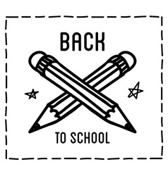 Back to school design typographic quotes vector