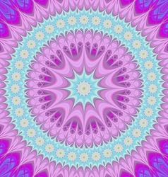 Girly mandala - abstract oriental design vector