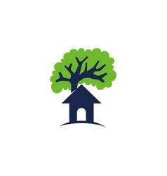 home house building real estate property design vector image
