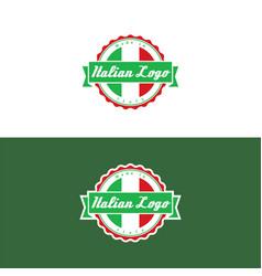 Italian logo vector