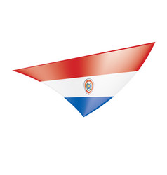 Paraguay flag vector