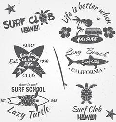 Set retro vintage badges and labels vintage vector