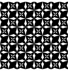 Flowers stylized seamless pattern 2 vector image