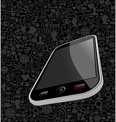 Iphone background vector image