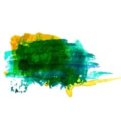 Watercolor blots vector image vector image