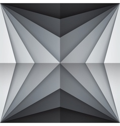 Black and gray rectangle shapes abstract vector image