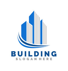 building logo icon and vector image