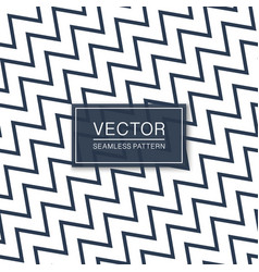 diagonal seamless zigzag simple pattern - blue and vector image