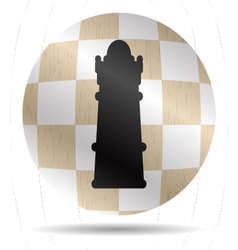 Icon chess queen vector