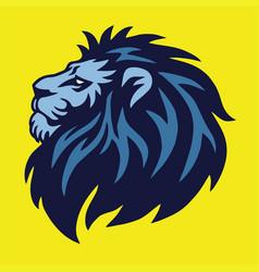 Lion head logo vector