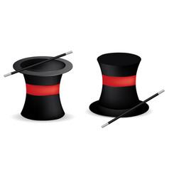 magician hats vector image