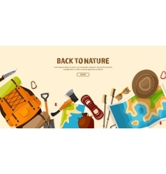 TravelHiking Background Mountain Climbing vector