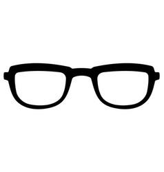 glasses hipster style vintage glasses vector image