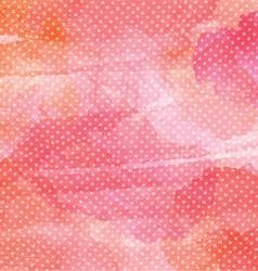 polka dot watercolor background 1401 vector image