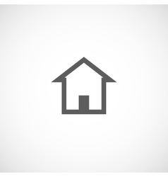 House building abstract real estate icon logo vector image