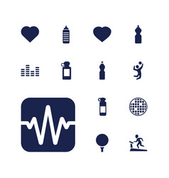13 club icons vector