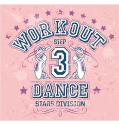 Dance Workout vector