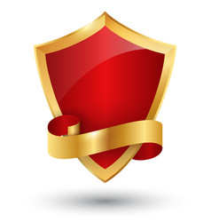 golden premium quality red best label space vector image