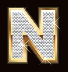 n bling bling vector image