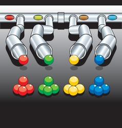 Pipes diagram vector