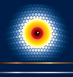 energy cell vector image vector image