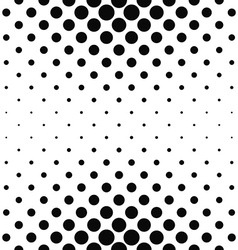 Repeating monochrome dotted pattern vector image