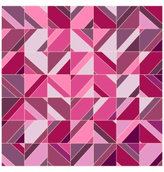 Mosaic complex lilac background vector image vector image