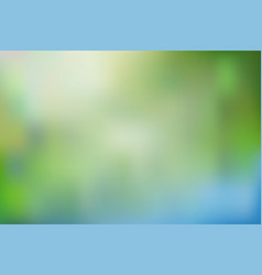 Abstract blurred gradient mesh background in vector