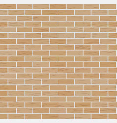 Brick wall background classic texture vector
