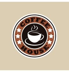 Coffee house logo vector