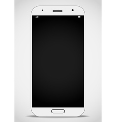 Modern smartphone mockup layout vector
