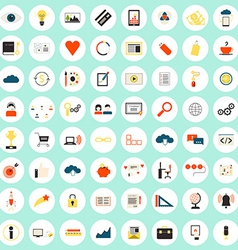 SEO icons big set vector