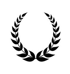 wreath vector image