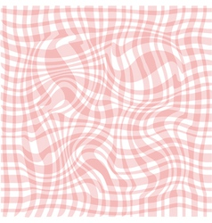 Abstract pink waved background vector image vector image