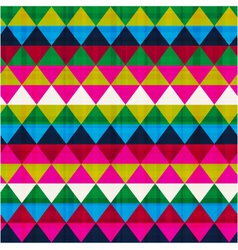 seamless triangle background texture vector image vector image