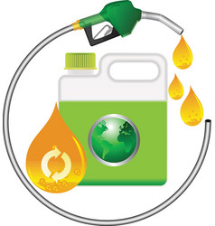 biodiesel vector image