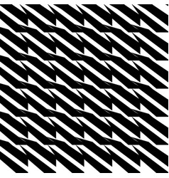 Edgy abstract pattern with lines stripes vector
