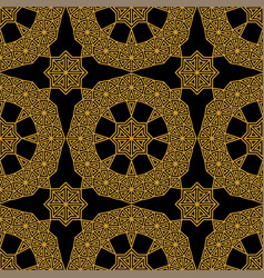 elegant seamless geometric pattern in arabic style vector image