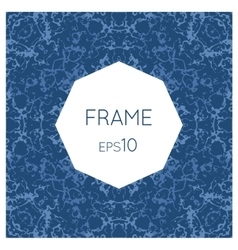 Frame with a texture of water vector